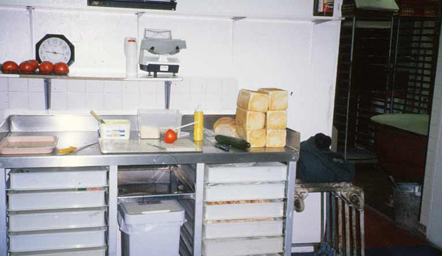 Sandwich-Preparation