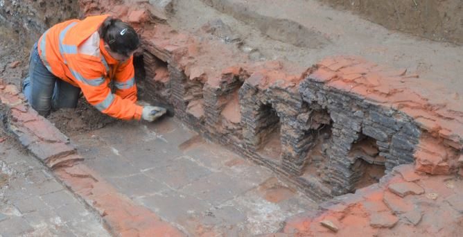 Silver Street Excavation - Tile Kilns