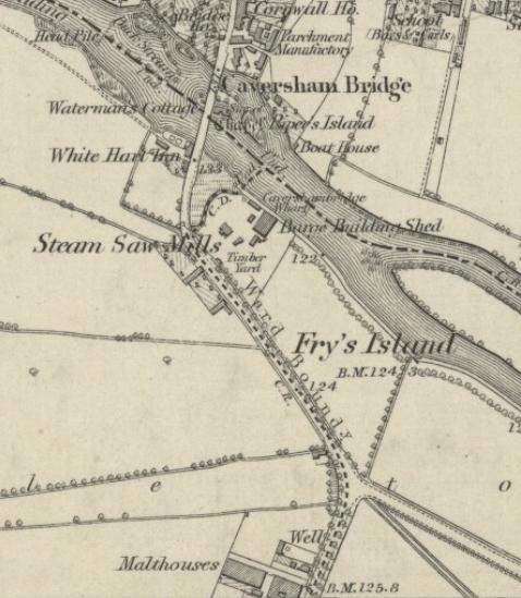 1897 Map - Drews Building