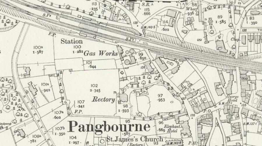 Pangbourne - OS Map 1912