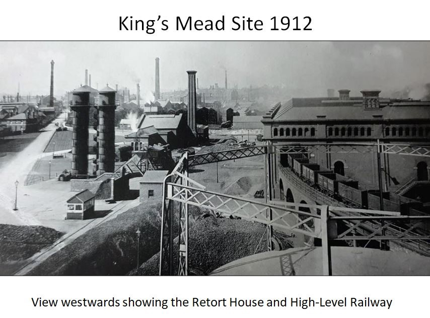 Reading Gas - Kings Mead Retort House and Railway 1912