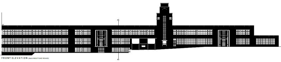Gillette Building - Front Elevation