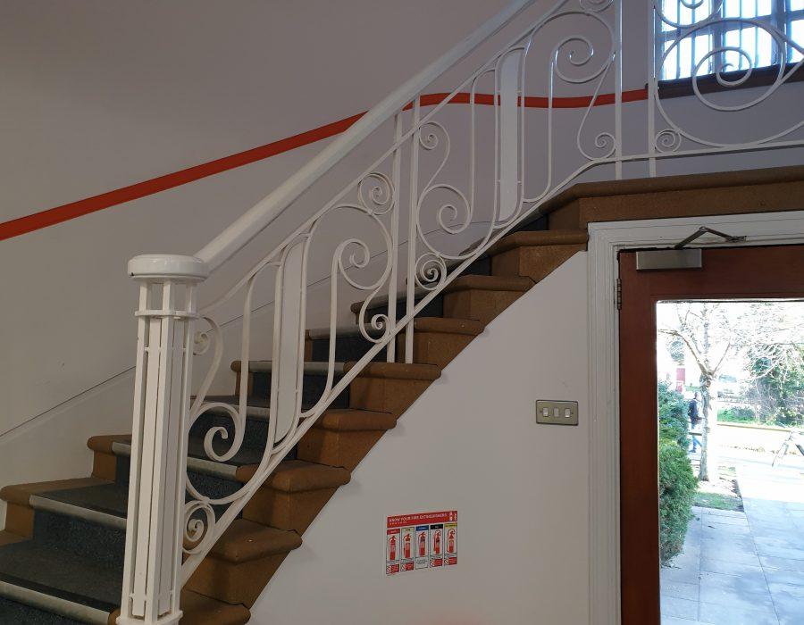 Gillette Building - staircase JAJ (Jan 2020)