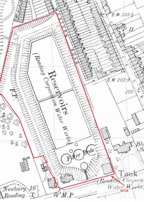 Water Works - Bath Road Map TVAS