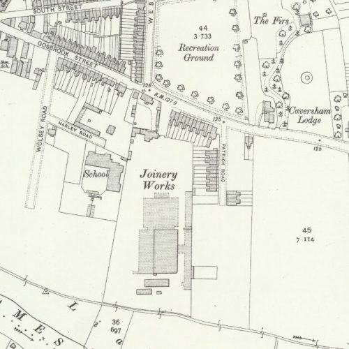 Elliotts Reading - OS Map 1912